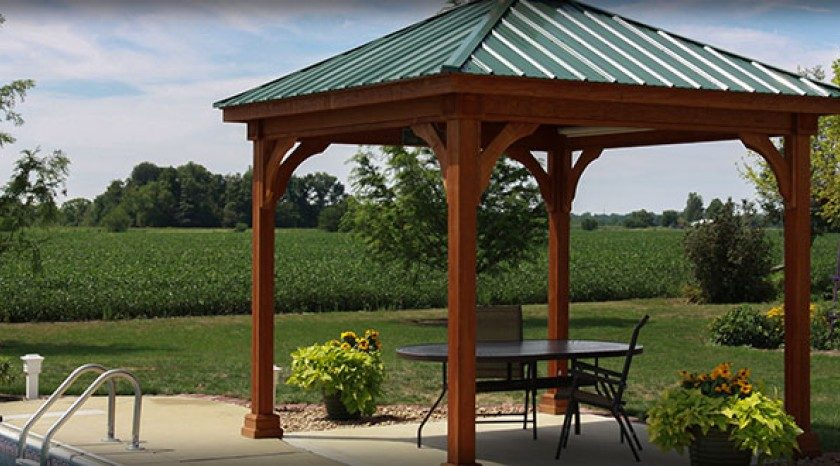 Gazebos for Parks, Homes and Public Places