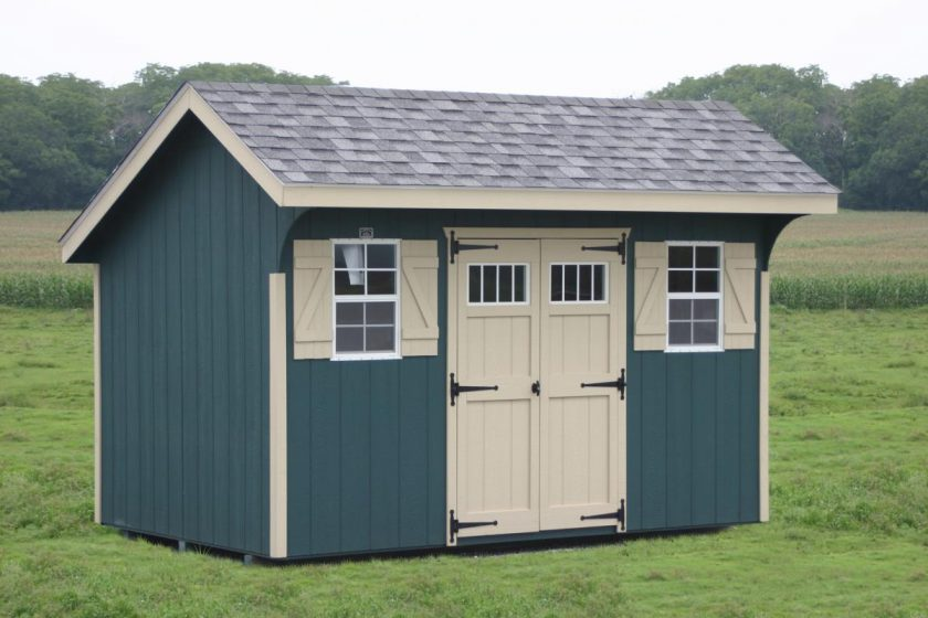 Types of Storage Sheds for the Backyard